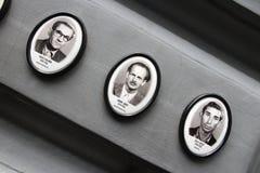 恐怖布达佩斯议院  免版税库存照片