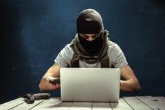 恐怖主义概念 免版税库存照片