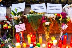 巴黎恐怖主义攻击 免版税库存照片