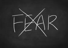 恐惧没有 免版税图库摄影