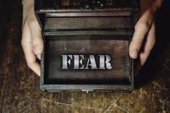 恐惧 免版税库存照片