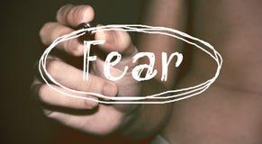 恐惧 库存照片