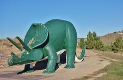 恐龙公园在拉皮德城,南达科他 免版税库存图片