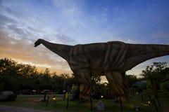 恐龙公园在泰国 免版税图库摄影