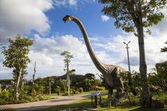 恐龙公园在泰国 库存照片