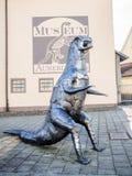 恐龙博物馆特罗辛根 库存照片