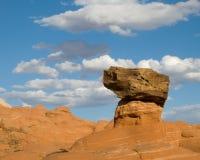 恐龙岩石 库存照片