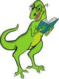 恐龙教师 库存照片