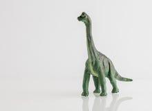恐龙查出的玩具白色 免版税图库摄影