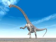 恐龙梁龙 免版税库存图片