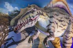 恐龙现实模型  免版税库存图片