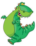 恐龙走 图库摄影
