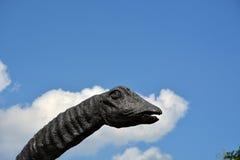 恐龙雕象 图库摄影