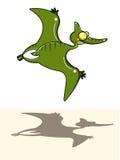 恐龙飞行 图库摄影