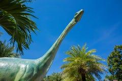 恐龙,蜥脚类恐龙,三维,白垩纪,例证 库存照片
