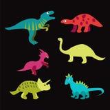 恐龙-例证 库存图片