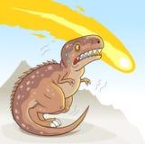 恐龙绝种 库存例证