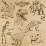 恐龙3 库存图片
