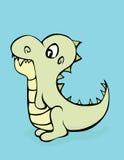 恐龙Cutie 库存图片