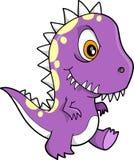 恐龙rex t向量 皇族释放例证