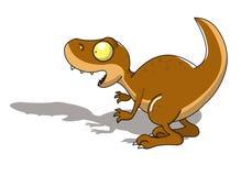 恐龙rex t 皇族释放例证