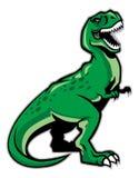 恐龙rex t 库存照片