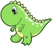 恐龙rex t 库存例证