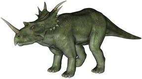 恐龙styracosaurus 免版税库存照片