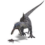 恐龙suchominus 库存图片