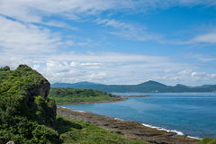恒春半岛,最南端的台湾岛,垦丁国家公园---Maobitou监视 库存照片