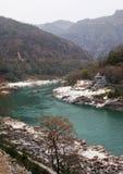 恒河近喜马拉雅山 免版税库存照片