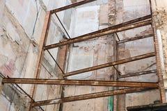 恢复原状的大厦 库存图片