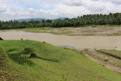 恢复原状的好的河为旅游胜地 库存图片