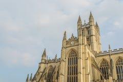 巴恩修道院在巴恩,英国 免版税库存图片