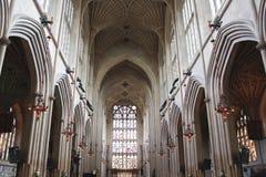 巴恩修道院教会天花板 免版税库存照片