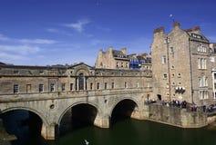 巴恩城市在英国 免版税库存照片