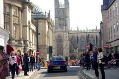 巴恩城市在英国 免版税库存图片