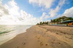 恩戈莱坞德海滩 免版税库存照片