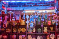 恩施多士多士北京皇城九到霍尔里在商品商店 免版税图库摄影