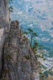 恩施大峡谷山风景 免版税图库摄影