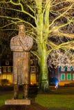恩格斯纪念品在伍伯托,德国 免版税图库摄影