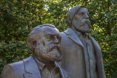 恩格斯friedrich ・ Karl Marx 免版税库存图片