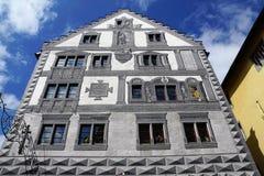 恩金老镇在德国 库存照片