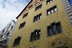 恩金老镇在德国 免版税库存图片