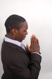 恳切的prayer2 库存照片