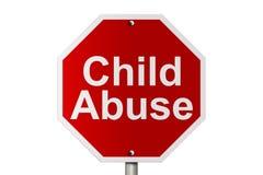 恶习儿童终止 库存例证