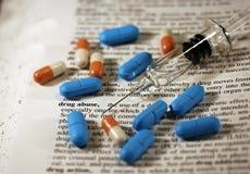 恶习药物 免版税库存图片