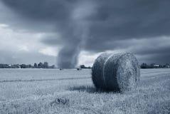 恶劣天气在乡下 免版税图库摄影