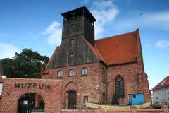 恶劣环境测井的渔博物馆 库存照片