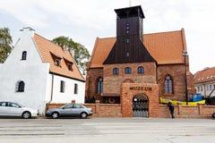 恶劣环境测井的,波兰渔博物馆 库存照片